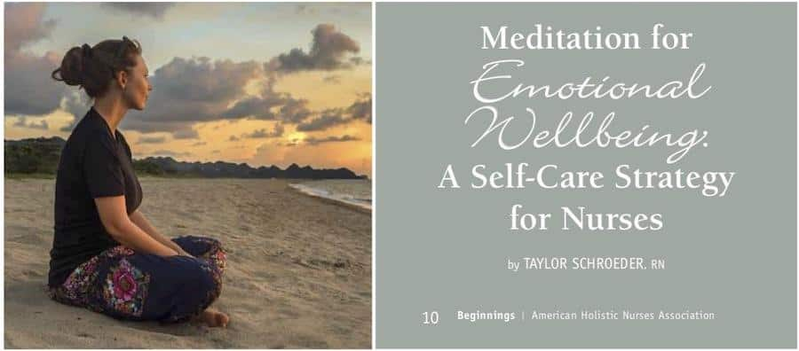 Meditazione e benessere emozionale per infermieri